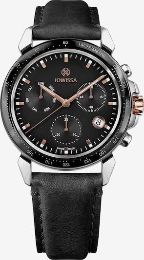 JOWISSA Quarzuhr 'LeWy 9' Swiss Men's Watch in rosegold / schwarz / silber, Produktansicht