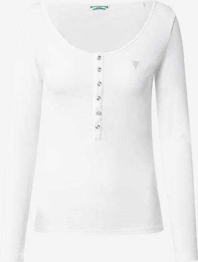 GUESS Shirt 'CAROLA' in weiß, Produktansicht