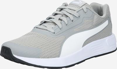 PUMA Laufschuh 'Taper' in graumeliert / weiß, Produktansicht