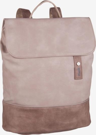 ZWEI Rucksack ' Jana ' in taupe / altrosa, Produktansicht