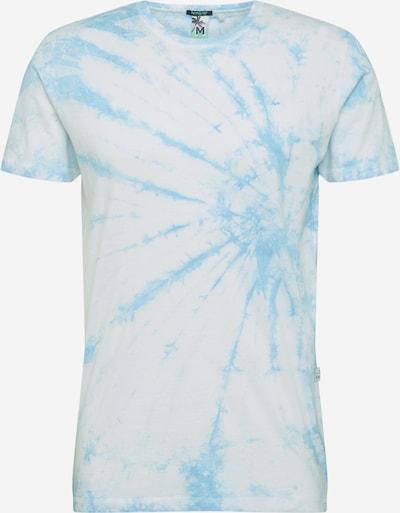 Hailys Men T-Shirt 'Batik' in blau / weiß, Produktansicht