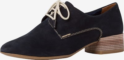 Pantofi cu șireturi TAMARIS pe navy, Vizualizare produs