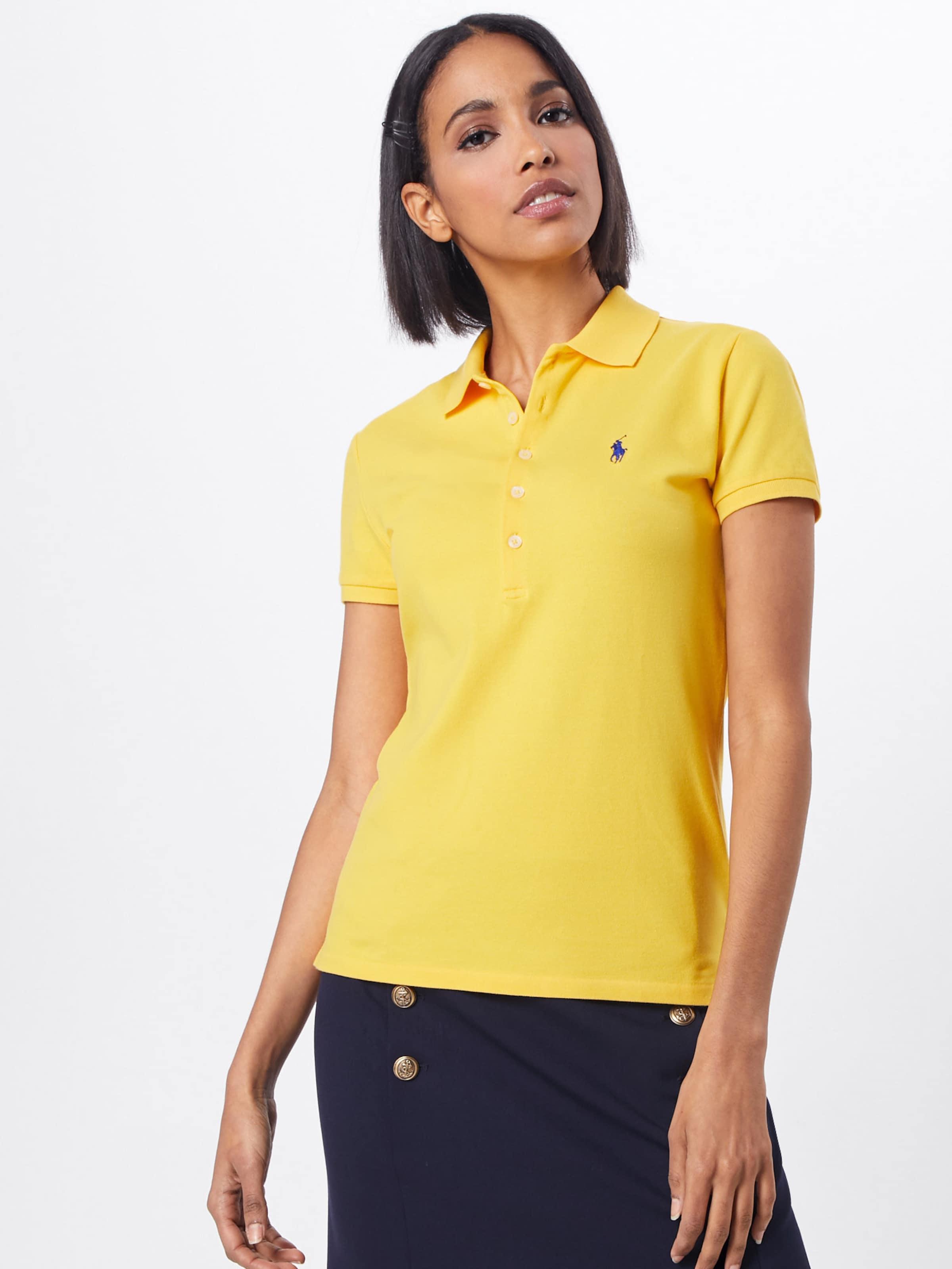 Ralph Poloshirt Gelb Polo Lauren 'julie' In ikXZuTPO