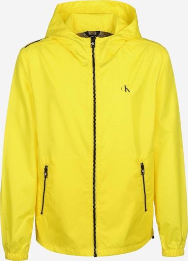Calvin Klein Jeans Tussenjas in de kleur Geel / Zwart, Productweergave