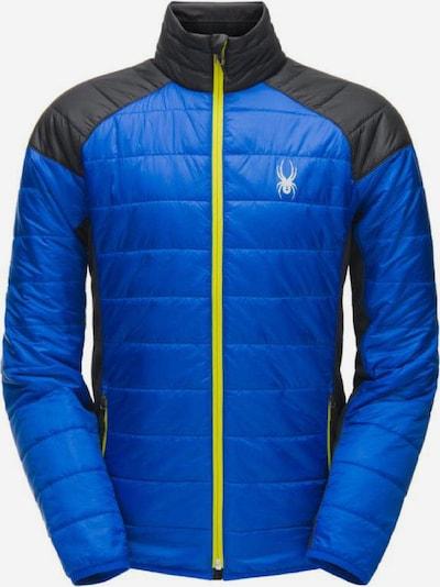 SPYDER Jacke 'Gissade FZ' in blau / schwarz / weiß, Produktansicht