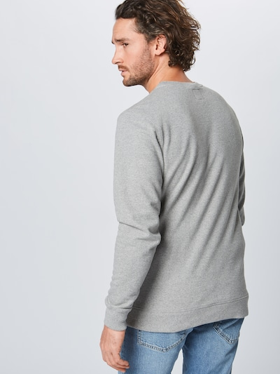 VANS Sweatshirt in de kleur Grijs / Zwart: Achteraanzicht