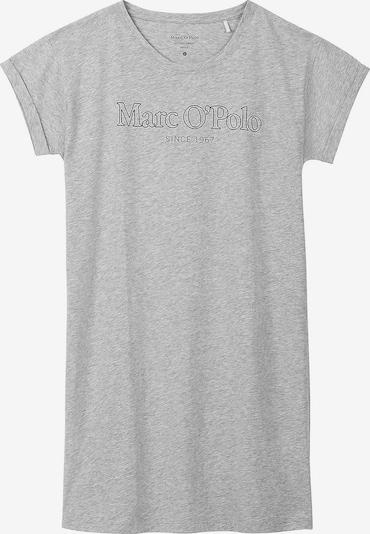 Marc O'Polo Chemise de nuit en gris chiné / noir, Vue avec produit