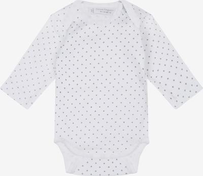 Sense Organics Rompertje/body 'YVON' in de kleur Grijs / Wit, Productweergave