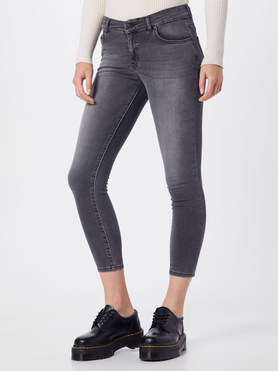 LTB Jeans 'Lonia' in grey denim, Modelansicht