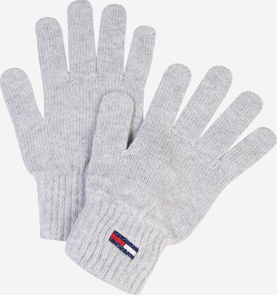 Tommy Jeans Full finger gloves in light grey, Item view