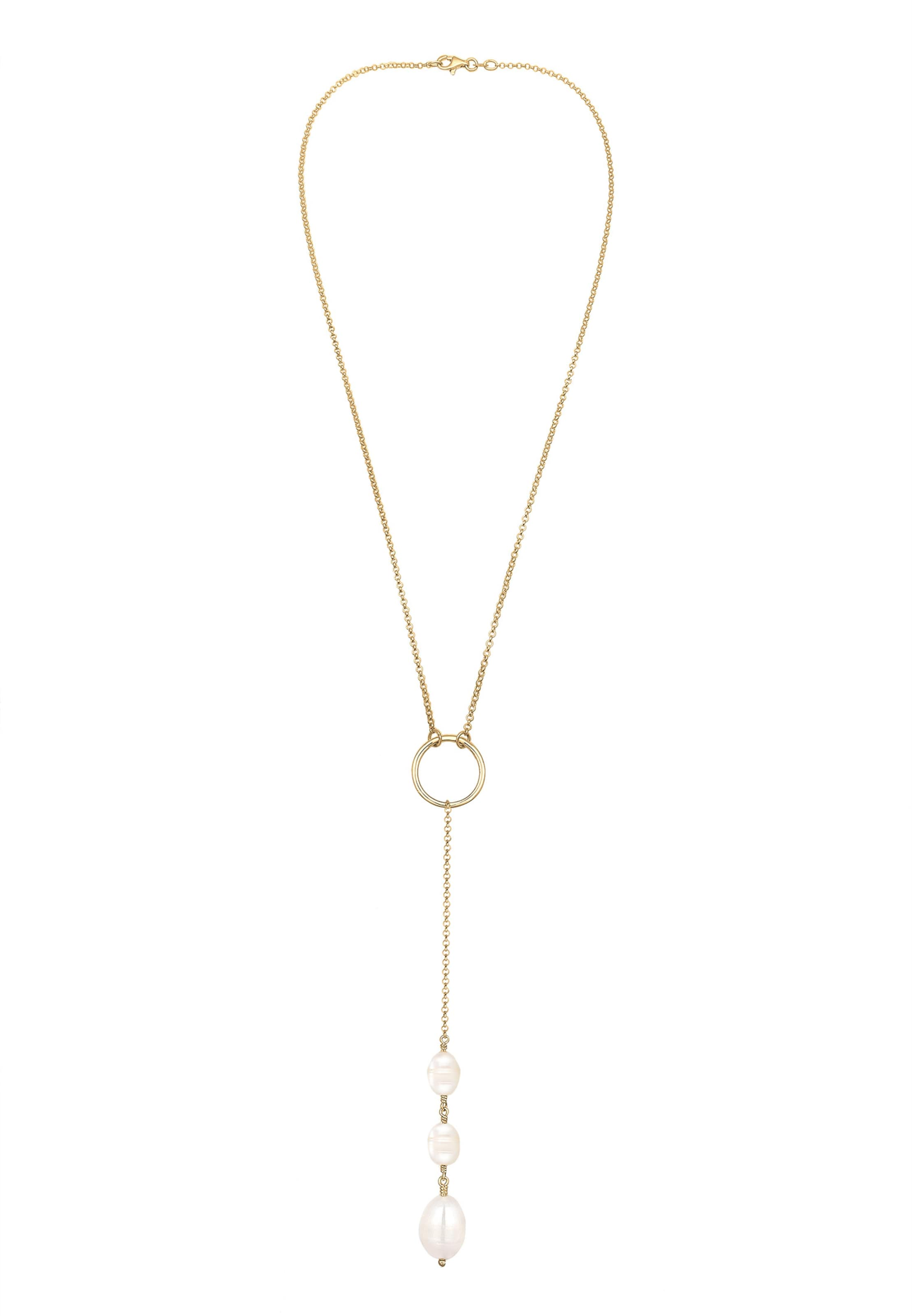 'kreis' 'kreis' In Elli Halskette Elli In 'kreis' GoldPerlweiß Elli Halskette GoldPerlweiß Halskette LqGSVUzMp