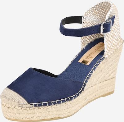 Vidorreta Sandale in beige / marine, Produktansicht