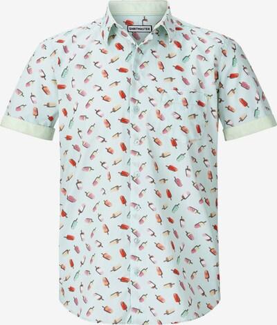 Shirtmaster Kurzarmhemd 'Iceicebaby' in pastellgrün, Produktansicht