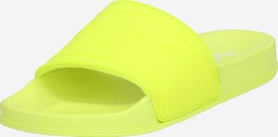 neonsárga Pepe Jeans Papucs 'SLIDER', Termék nézet