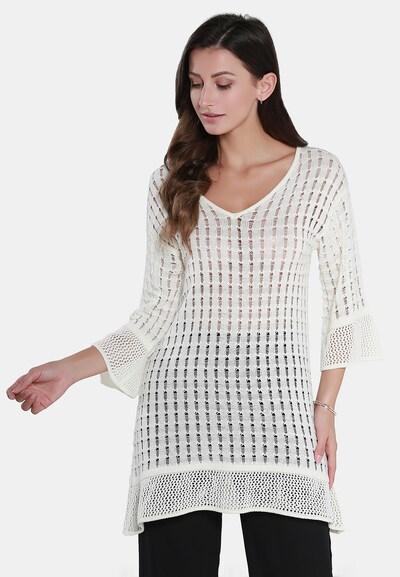 Usha Pullover in weiß, Modelansicht