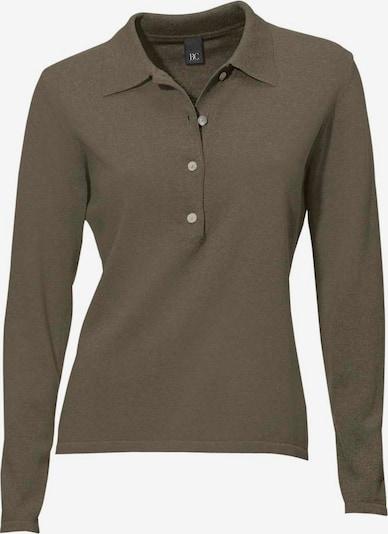 heine Polo-Pullover in mokka, Produktansicht