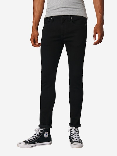 LEVI'S Jeans '519™' in black denim, Modelansicht