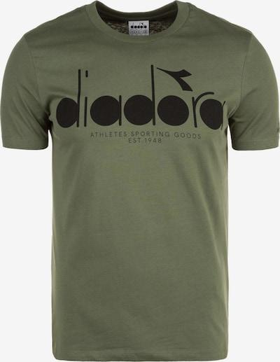 Diadora Shirt in khaki, Produktansicht