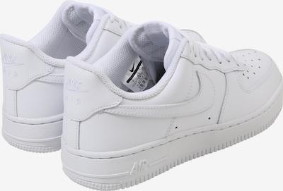 Nike Sportswear Sneaker 'Air Force 1' in weiß: Rückansicht