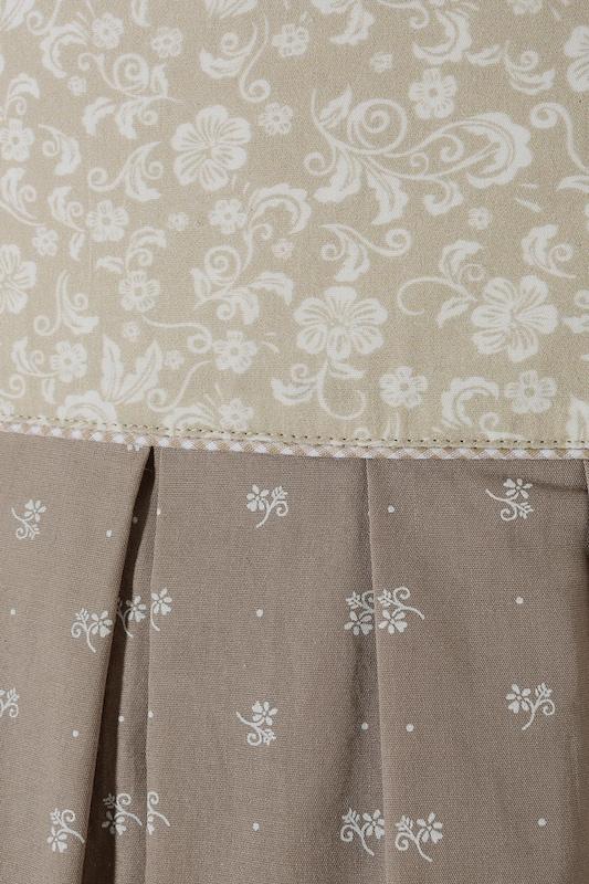 MARJO Trachtenrock Damen in schwingender Weite Weite Weite in beige   dunkelbeige  Großer Rabatt c5cac2