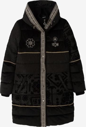 Žieminis paltas 'Noa' iš Desigual , spalva - juoda / balta, Prekių apžvalga