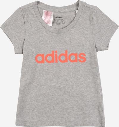 ADIDAS PERFORMANCE T-Shirt fonctionnel 'YG E LIN' en gris / orange, Vue avec produit