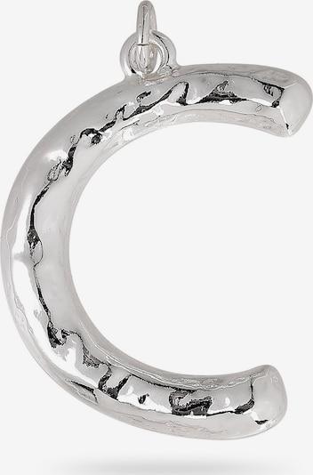 Pilgrim Hangers 'Big Letters C' in de kleur Zilver, Productweergave