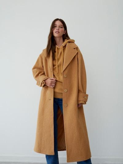 LeGer by Lena Gercke Manteau mi-saison 'Tamia' en marron, Vue avec modèle