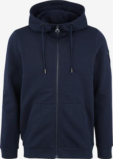 Bluză cu fermoar sport CHIEMSEE pe albastru închis, Vizualizare produs