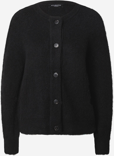 SELECTED FEMME Strickjacke 'Lulu' in schwarz, Produktansicht