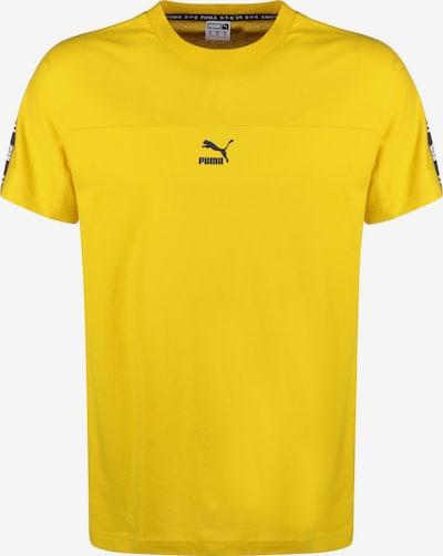 PUMA Shirt 'XTG Tee' in senf / schwarz, Produktansicht