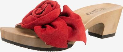 SOFTCLOX Pantolette in rot, Produktansicht