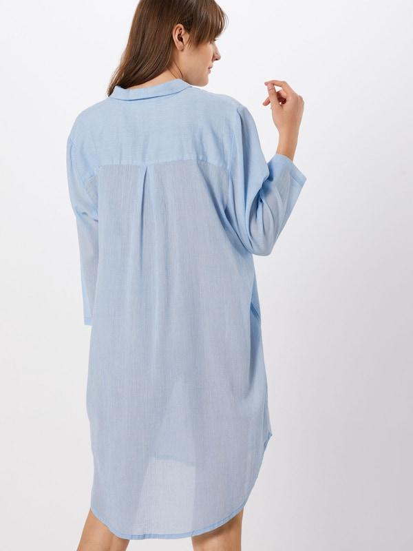 Dress' Kaffe 'kawilla Chemisier Clair Bleu Shirt En QxthCsrd