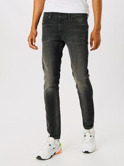 DIESEL Jeans 'D-STRUKT' in black denim, Modelansicht