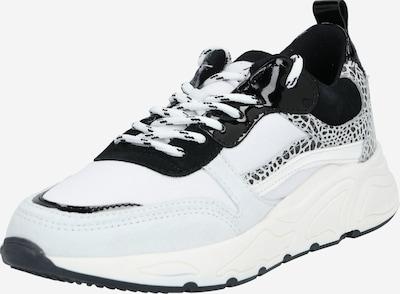 Sneaker low '6682' PS Poelman pe negru / alb, Vizualizare produs