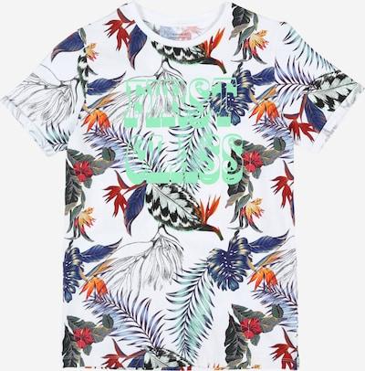 NAME IT Shirt 'Jobban' in weiß, Produktansicht