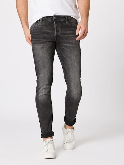 JACK & JONES Jeans 'Iglenn' in de kleur Black denim, Productweergave