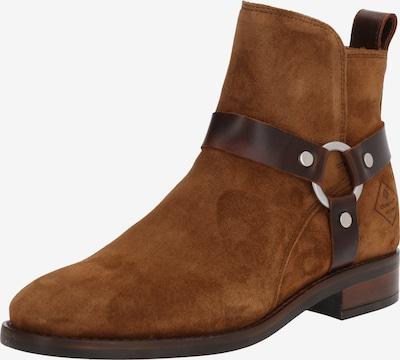 GANT Stiefeletten 'Fay Mid Zip boot' in braun, Produktansicht