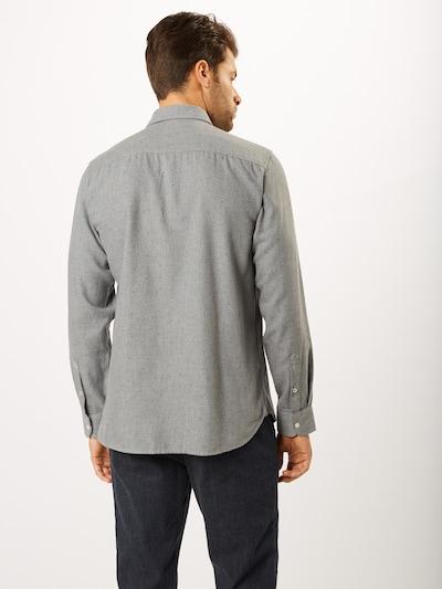 Pepe Jeans Biroja krekls 'EDGAR' pieejami raibi pelēks: Aizmugures skats