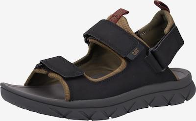CATERPILLAR Sandalen in hellbraun / schwarz, Produktansicht