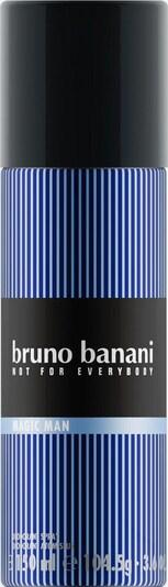 BRUNO BANANI Deo-Spray in blau / himmelblau / schwarz / weiß, Produktansicht