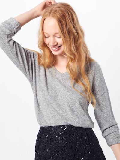 ESPRIT Pullover in graumeliert, Modelansicht