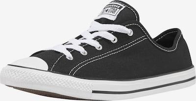 CONVERSE Sneakers laag 'Chuck Taylor All Star' in de kleur Zwart / Wit, Productweergave