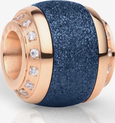 BERING Bering Damen-Charm Edelstahl in blau / gold, Produktansicht