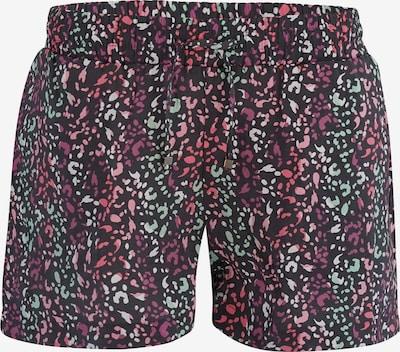 mazine Shorts 'Palm Cove' in pink / schwarz, Produktansicht