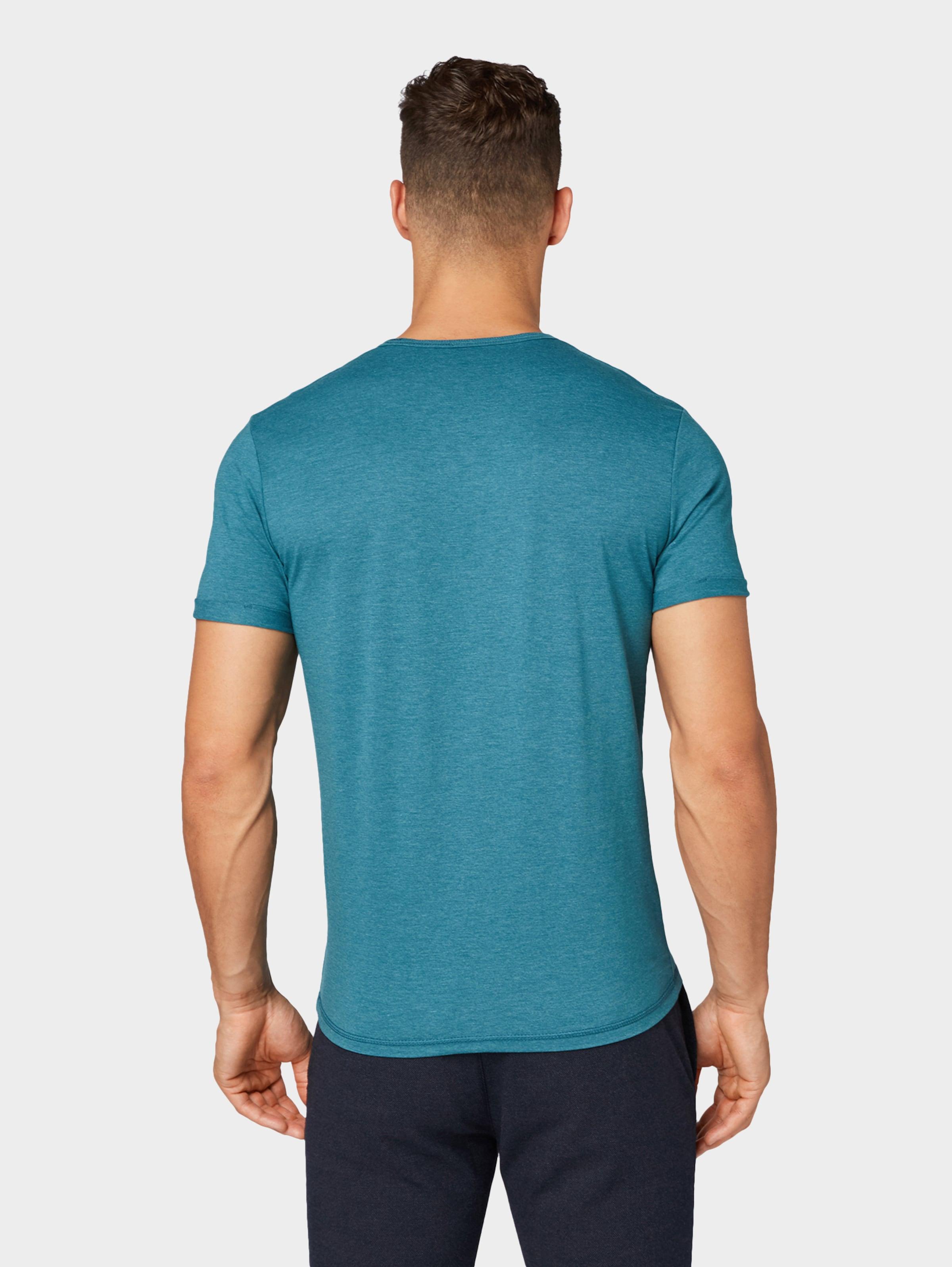 T Tailor shirt In PastellblauSchwarz Tom J5ulc3TFK1