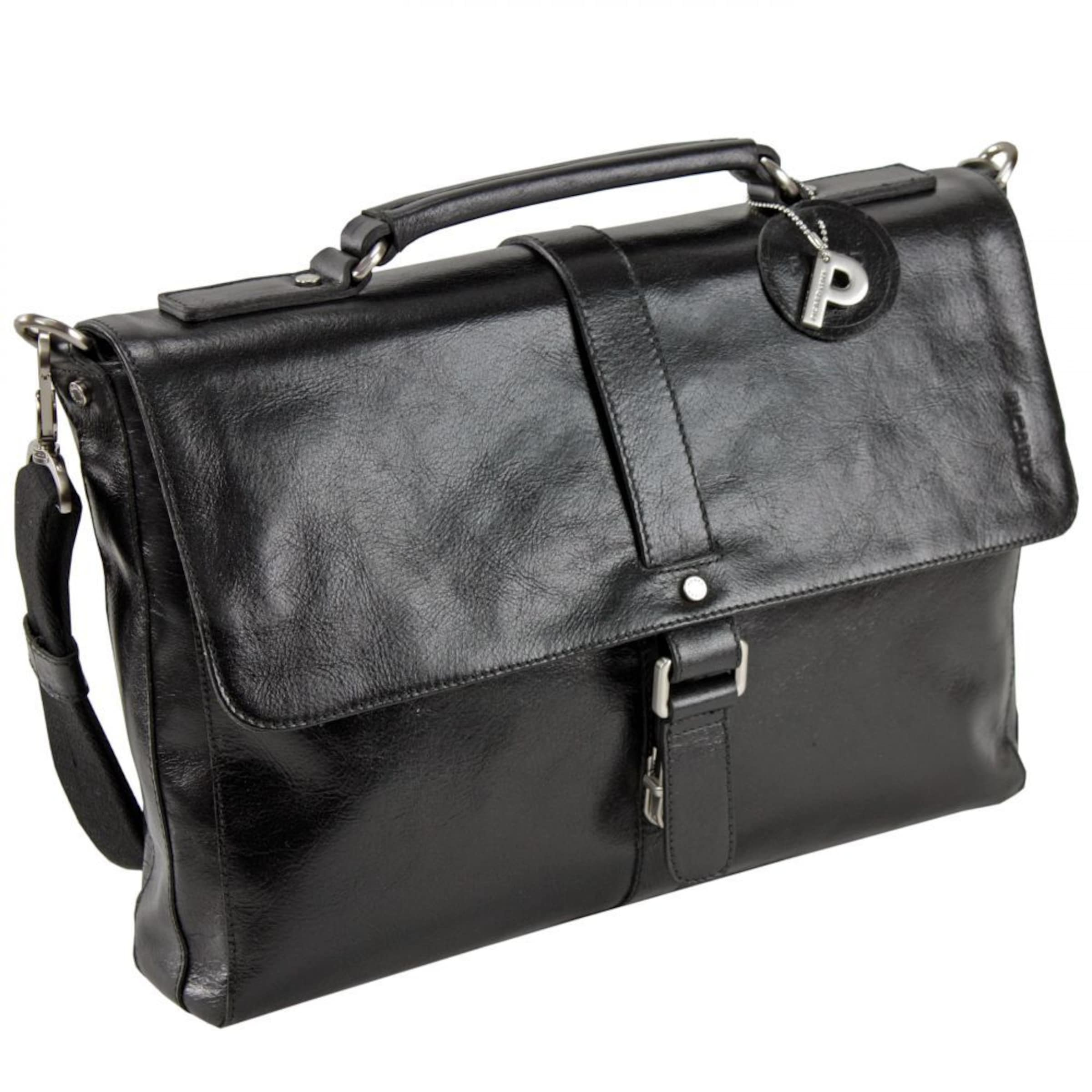 Leder tasche 38 Schwarz Buddy Business In Cm Picard W2YEIHD9