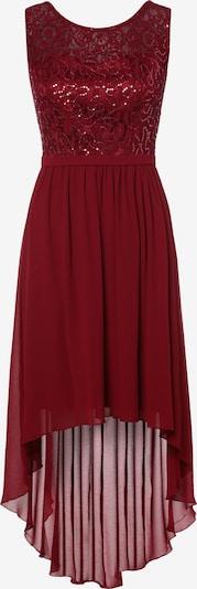 Marie Lund Kleid in bordeaux, Produktansicht