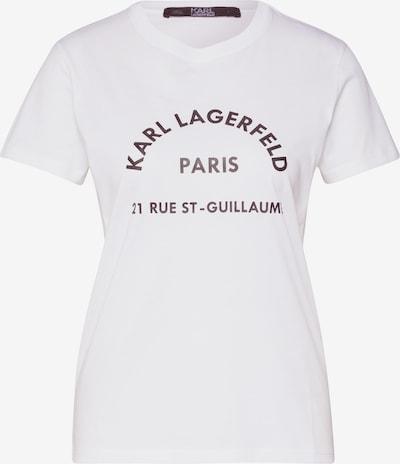 Karl Lagerfeld Shirt 'address' in weiß, Produktansicht