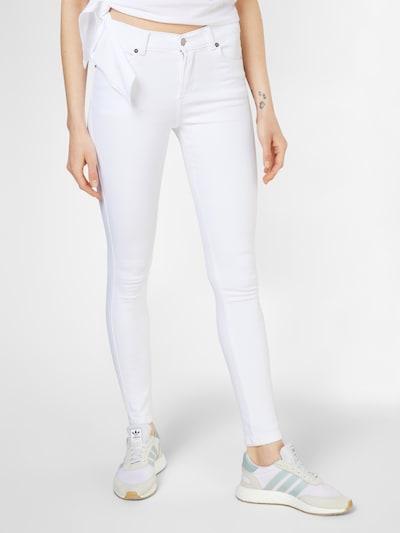 Dr. Denim 'Lexy' Skinny Jeans in weiß, Modelansicht